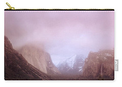 Yosemite Valley Ca Usa Carry-all Pouch by Panoramic Images