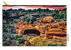 Yucca Cave Canyon Dechelly Carry-all Pouch by Bob and Nadine Johnston