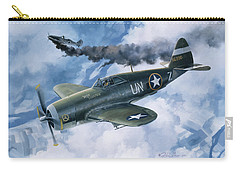 Zemke's Thunder Carry-all Pouch by Randy Green