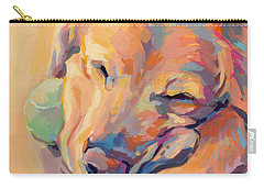 Zzzzzz Carry-all Pouch by Kimberly Santini