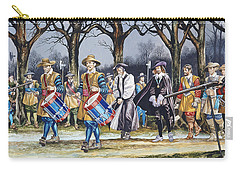 Charles I's Last Walk Carry-all Pouch by Ron Embleton