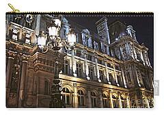 Hotel De Ville In Paris Carry-all Pouch by Elena Elisseeva