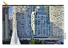 Sailing In Toronto Harbor Carry-all Pouch by Elena Elisseeva