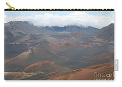 Haleakala Volcano Maui Hawaii Carry-all Pouch by Sharon Mau