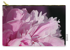 Peony Named Shirley Temple Carry-all Pouch by J McCombie