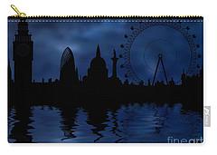 London Skyline Carry-all Pouch by Michal Boubin