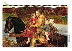 A Dream Of The Past Carry-all Pouch by Sir John Everett Millais