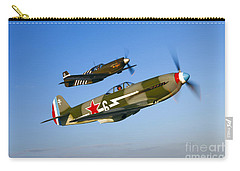 A Soviet Yakovlev Yak-3 And A P-51a Carry-all Pouch by Scott Germain