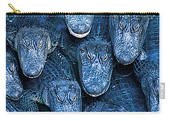 Alligators Carry-all Pouch by Gary Meszaros and Photo Researchers