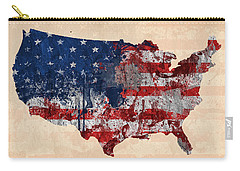 America Carry-all Pouch by Mark Ashkenazi