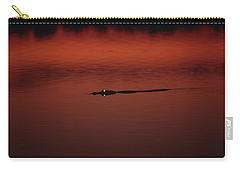 American Alligator Alligator Carry-all Pouch by Konrad Wothe
