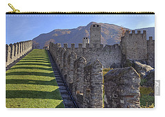 Bellinzona - Castelgrande Carry-all Pouch by Joana Kruse
