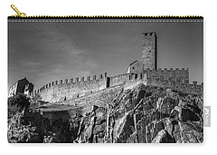 Bellinzona Switzerland Castelgrande Carry-all Pouch by Joana Kruse