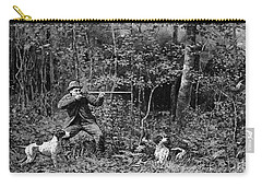 Bird Shooting, 1886 Carry-all Pouch by Granger
