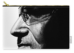 Bono - Half The Man Carry-all Pouch by Kayleigh Semeniuk