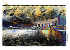 City Of Color Carry-all Pouch by Douglas Barnard
