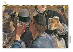 Corner Of A Cafe-concert Carry-all Pouch by Edouard Manet