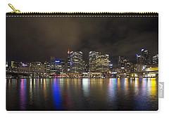 Darling Harbor Sydney Skyline Carry-all Pouch by Douglas Barnard