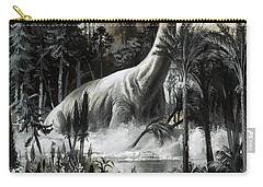 Dinosaurs Carry-all Pouch by Roger Payne