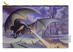 Dragon Combat Carry-all Pouch by The Dragon Chronicles - Steve Re