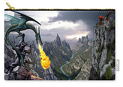 Dragon Valley Carry-all Pouch by The Dragon Chronicles - Garry Wa