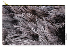 Emu Feathers Carry-all Pouch by Hakon Soreide
