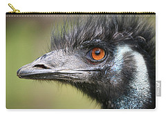 Emu Carry-all Pouch by Karol Livote