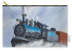 First Train Through Carry-all Pouch by Christopher Jenkins