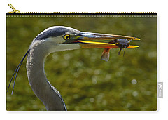 Fishing For A Living Carry-all Pouch by Tony Beck