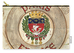 French Coat Of Arms Carry-all Pouch by Debbie DeWitt