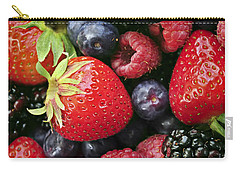 Fresh Berries Carry-all Pouch by Elena Elisseeva