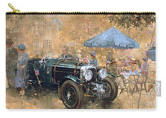 Garden Party With The Bentley Carry-all Pouch by Peter Miller