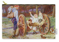 Happy As The Days Are Long Carry-all Pouch by Frederick Morgan