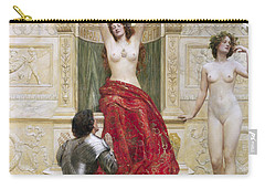 In The Venusburg Carry-all Pouch by John Collier