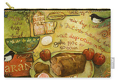 Irish Brown Bread Carry-all Pouch by Jen Norton