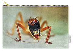 Jiminy Cricket 2 Carry-all Pouch by Kaye Menner