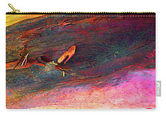 Carry-all Pouch featuring the digital art Landing by Richard Laeton