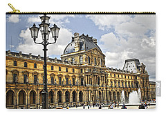 Louvre Museum Carry-all Pouch by Elena Elisseeva