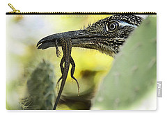 Lunch With A Roadrunner  Carry-all Pouch by Saija  Lehtonen