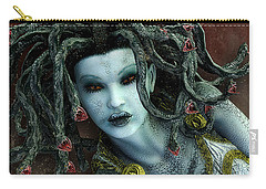 Medusa Carry-all Pouch by Jutta Maria Pusl