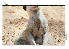 Meerkat Carry-all Pouch by Fabrizio Troiani