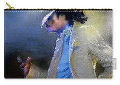 Michael Jackson 10 Carry-all Pouch by Miki De Goodaboom