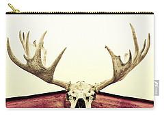 Moose Trophy Carry-all Pouch by Priska Wettstein