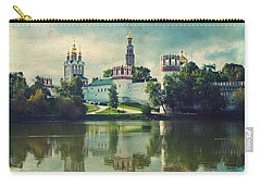 Novodevichy Convent. Moscow Russia Carry-all Pouch by Juli Scalzi