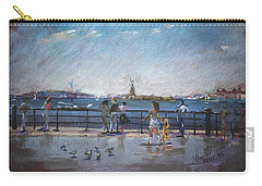 Nyc Grand Ferry Park 2 Carry-all Pouch by Ylli Haruni