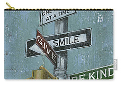 Nyc Inspiration 1 Carry-all Pouch by Debbie DeWitt