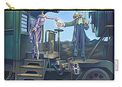 Of Thee I Sing The Body Electric Carry-all Pouch by Patrick Anthony Pierson