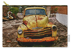 Old Yellow Truck Florida Carry-all Pouch by Garry Gay