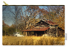 On A Back Road Carry-all Pouch by Benanne Stiens