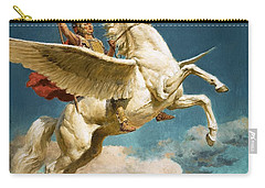 Pegasus The Winged Horse Carry-all Pouch by Fortunino Matania